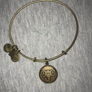 Alex and Ani Elephant Bracelet
